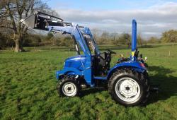 Landlegend Compact Tractor Hp 30 4 In 1 Loader