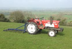 Oxdale Compact Tractor 4ft Mounted Harrow