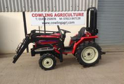 Yanmar Yanmar F16DT Compact tractor with Front Loader