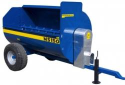 Fleming MS15 2 Cube Yard Muck Spreader