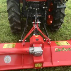 Del Morino Compact Tractor Flail Topper 4ft Funny Flail Topper