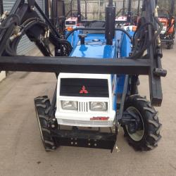 Mitsubishi Compact Tractor MT2001DX With Loader