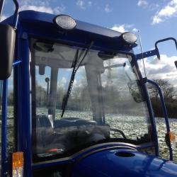Landlegend Compact HP 50hp 4x4 Tractor with cab & 4 In 1 Loader