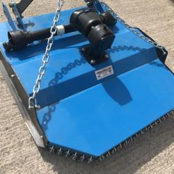 Compact Tractor Topper 4ft Rotary Topper with PTO