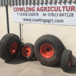 Kubota Wheel set With Turf Tyres