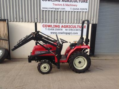 Mitsubishi Compact Tractor MT14DT With Front Loader
