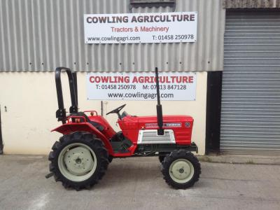Yanmar Compact Tractor YM1610D 4x4 compact tractor