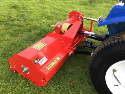 Del morino Compact Tractor Flail 4Ft Flipper Heavy Duty Flail Mower