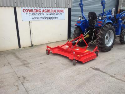 Del Morino Compact Tractor Mower 4ft Finishing mower