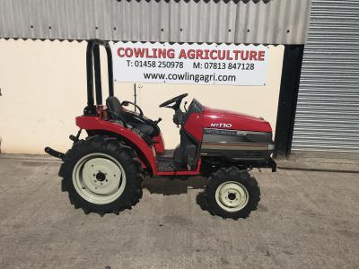 Mitsubishi Compact Tractor 170DT 4x4